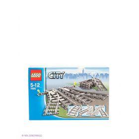 Игрушка Город Железнодорожные стрелки,номер модели 7895 City LEGO