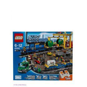 Игрушка Город Грузовой поезд 60052 City LEGO
