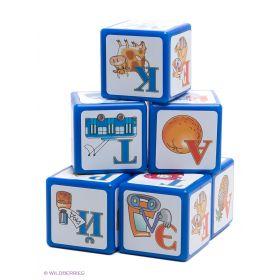 Кубики Алфавит, 9 шт. Десятое королевство