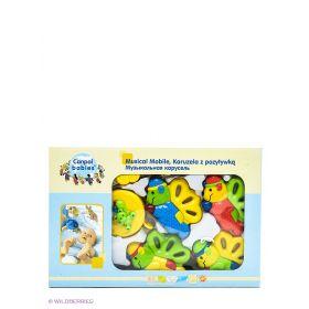 Музыкальная игрушка карусель Canpol babies