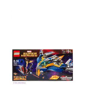 Игрушка Супер Герои Спасение космического корабля Милано LEGO