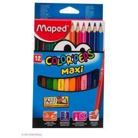 Набор цветных карандашей, 12 цв. Maped
