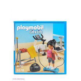 Комната для фитнеса Playmobil