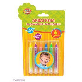 Аквагрим карандаши Играем вместе