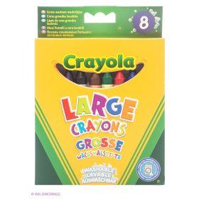 Набор  больших смываемых восковых мелков Crayola
