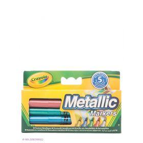 Фломастеры цвета металлик Crayola