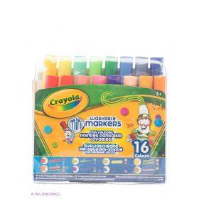 Набор мини фломастеров с узорными наконечниками Crayola
