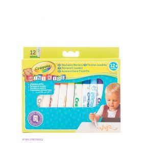 Набор цветных фломастеров для малышей Crayola
