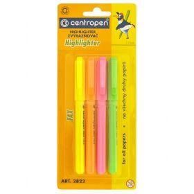 Набор маркеров флюоресцентных (4 цвета) Centropen