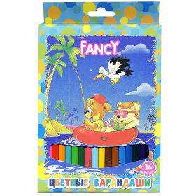 Набор карандашей цветных Fancy (36 цветов) Action!