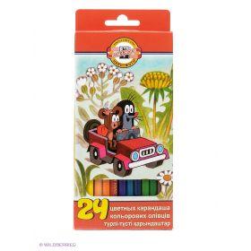 Набор карандашей цветных КРОТ, 24 цвета Koh-i-Noor