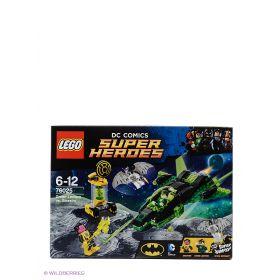 Игрушка Супер Герои Зеленый Фонарь против Синестро модель 76025 LEGO