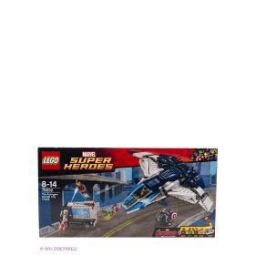 Игрушка Супер Герои Погоня на Квинджете Мстителей LEGO
