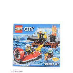 Игрушка Город Набор для начинающих: Пожарная охрана модель 60106 City LEGO