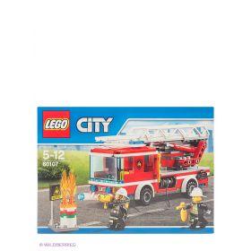 Игрушка Город Пожарный автомобиль с лестницей LEGO