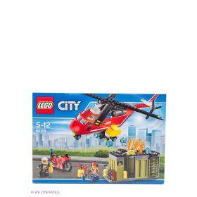 Игрушка Город Пожарная команда быстрого реагирования модель 60108 City LEGO