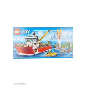 Игрушка Город Пожарный катер модель 60109 City LEGO