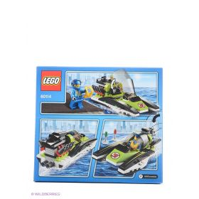 Игрушка Город Гоночный катер модель 60114 City LEGO
