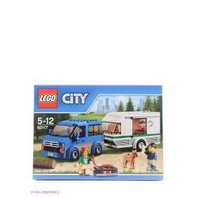 Игрушка Город Фургон и дом на колёсах 60117 City LEGO