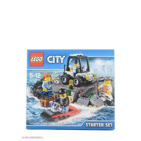 Игрушка Город Набор для начинающих: Остров-тюрьма модель 60127 City LEGO