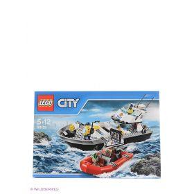 Игрушка Город Полицейский патрульный катер 60129 City LEGO