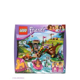 Игрушка Подружки Спортивный лагерь: сплав по реке модель 41121 LEGO