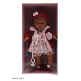 Кукла Даниэла 42 см со звуком Llorens