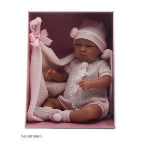 Кукла младенец 43 см с одеялом Llorens