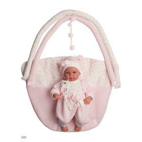 Кукла младенец 36 см с ковриком Llorens