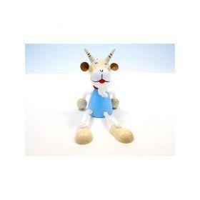 Игрушка подвеска на пружине - Козлик синий Taowa
