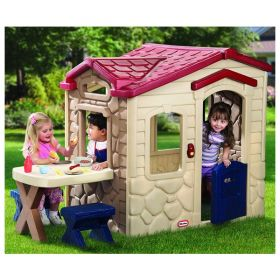 Игровой мульти-домик 2 (спорт, школа, заправка и магазин) Little Tikes