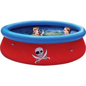 Надувной бассейн с 3D рисунком Fast Set 274х76 см Bestway