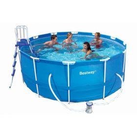Каркасный круглый бассейн 366х122 см Bestway