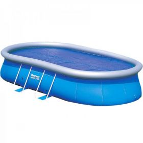 Надувной овальный бассейн 549х366х122 см Bestway