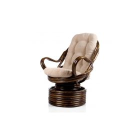 кресло-качалка плетеное davao с подушкой арт.004.003 Rocking Chairs