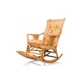 кресло-качалка плетеное chita с подушкой арт.004.007 Rocking Chairs