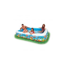 семейный надувной бассейн intex Intex