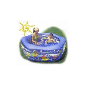 бассейн надувной intex аквариум 191x178x61 см  арт.56493 Intex