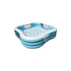 бассейн надувной intex family 229х229x61 см  арт.57495 Intex