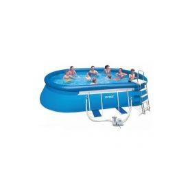 бассейн каркасный intex  oval frame pool 549х305x107 см  арт.54432 Intex
