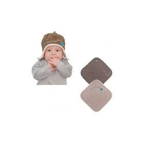 комплект одеяло-конверт lodger wrapper и шапочка lodger heart & star Lodger