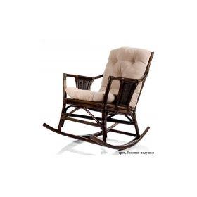 кресло-качалка плетеное canary с подушкой арт.004.006 Rocking Chairs