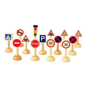 Дорожные знаки Plan Toys