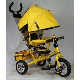 Велосипед GT7968 SAFARI TRIKE 3-кол.пласт.кол., страхов.обод, желтый Safari