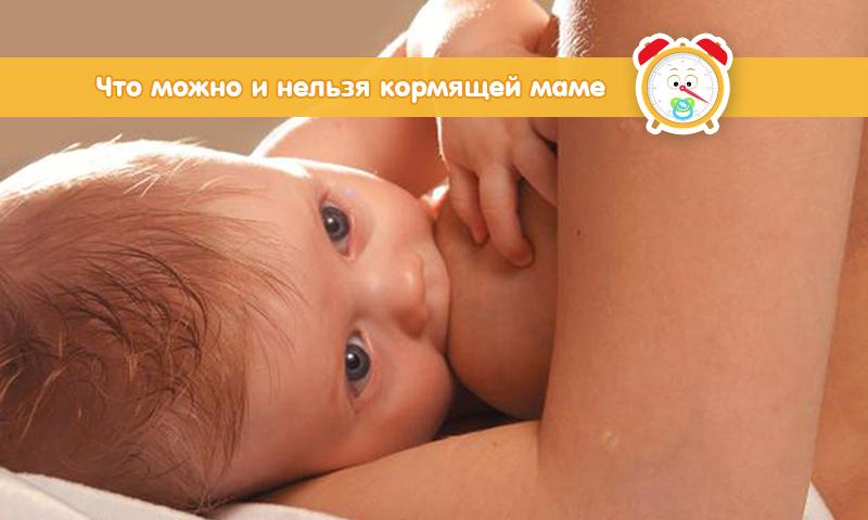 Что можно и нельзя кормящей маме – полный список разрешений и запретов 33cdd71ec6d