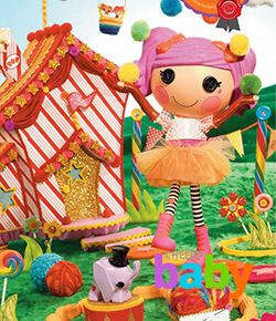 Игрушка кукла Lalaloopsy Смешинка (Peanut Big Top)