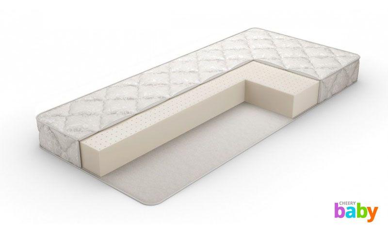 Матрас для овальной кроватки трансформер